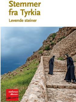 Hefte fra Tyrkia, med ortodokse prester på vei til kloster i fjellene, laget av Stefanusalliansen.