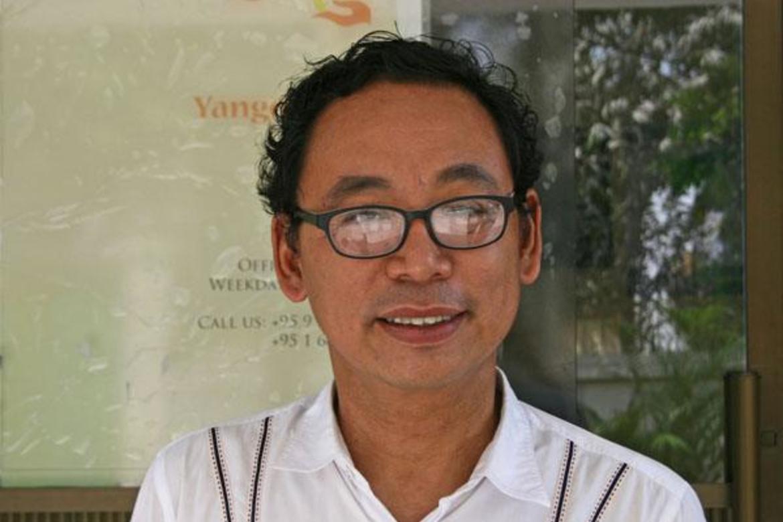 Aung Myo Min har kjempet for demokrati i Myanmar siden slutten av 1980-tallet.