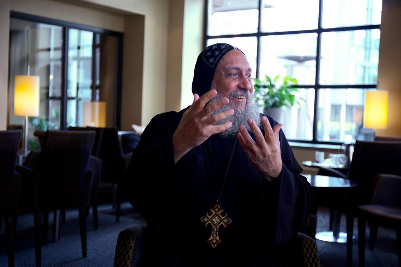 Biskop Thomas på Anafora.