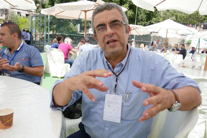 Ehab Kharrat er psykiater, politikar og aktiv i den største evangeliske kyrkja i Midtausten.
