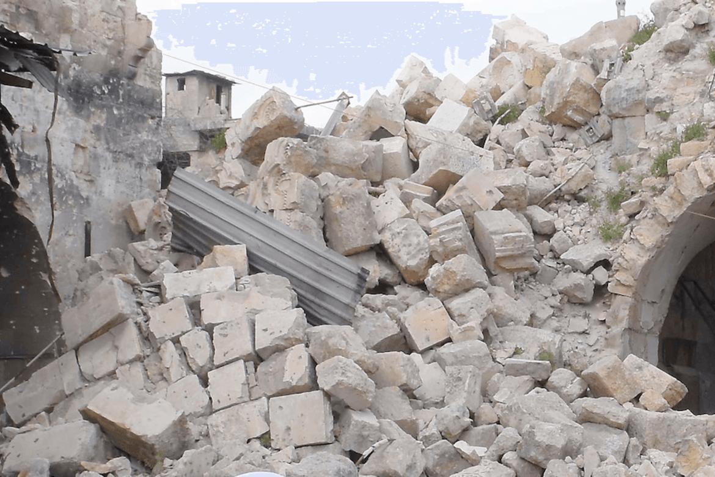 Mye av Aleppo er i Syria er lagt i ruiner, men en rekke kirkelige aktører har holdt stand.