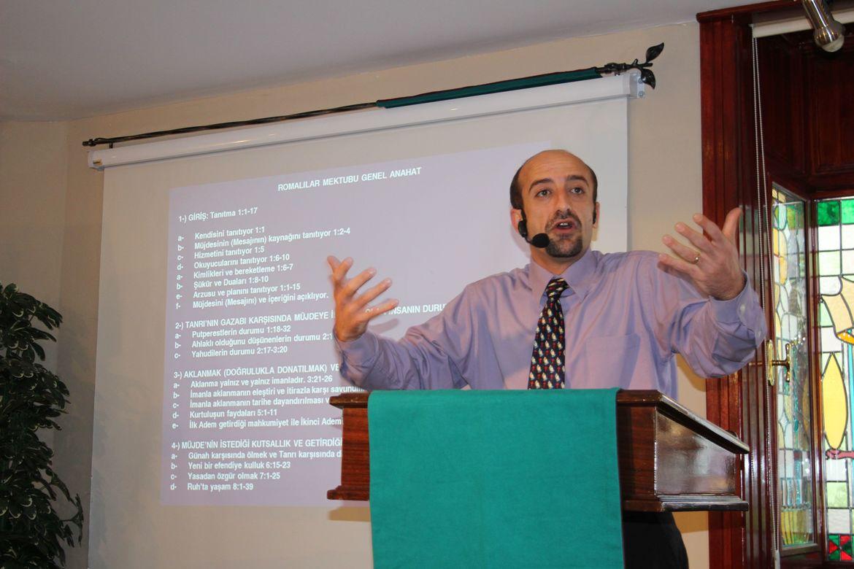 Pastor Ramazan Arkan i Antalya.