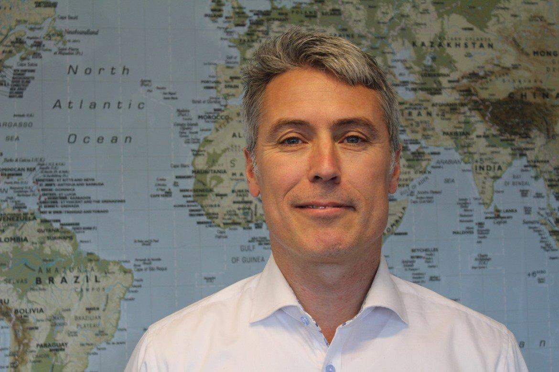 Ed Brown gleder seg til å bli ny generalsekretær i Stefanusalliansen.