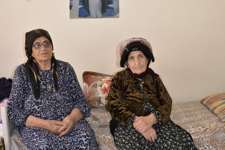 IS-gisler: Ghazahla (83) og Victoria (80) ble holdt fanget av IS. De kom seg ikke unna da resten av befolkningen i Karamles i Irak flyktet.