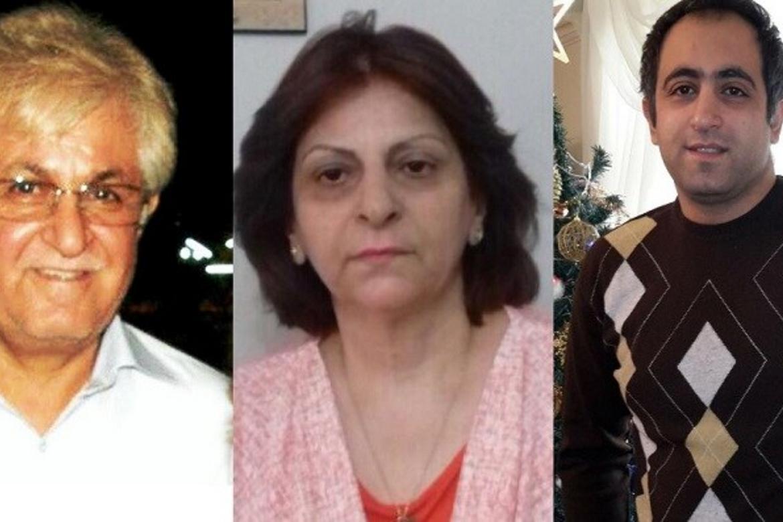 Victor Bet-Tamraz og hans kone Shamiram er dømt til henholdsvis 10 og fem års fengsel. Deres sønn Ramiel (t.h.) har allerede sonet fire måneder, men har naket straffen.