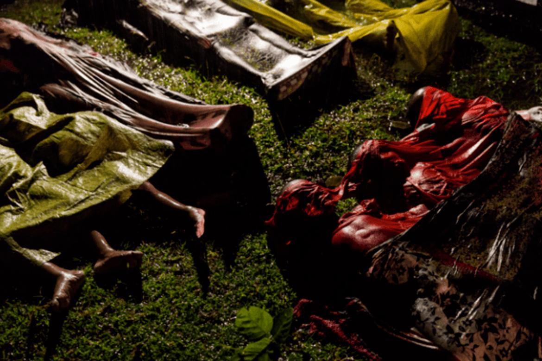 Flere tusen ble drept da hæren og politiet i Myanmar satte inn offensiven mot rohingyaene i august 2017.