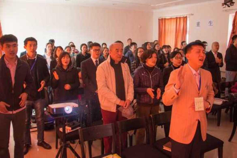 En kinesisk husmenighet som frykter forfølgelse.