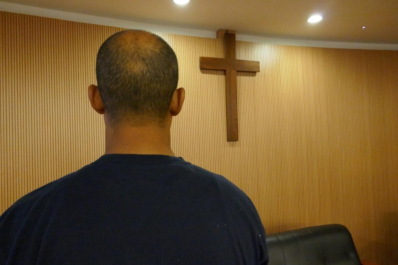 «Ahmed» blei trua på livet då han konverterte til kristendommen.