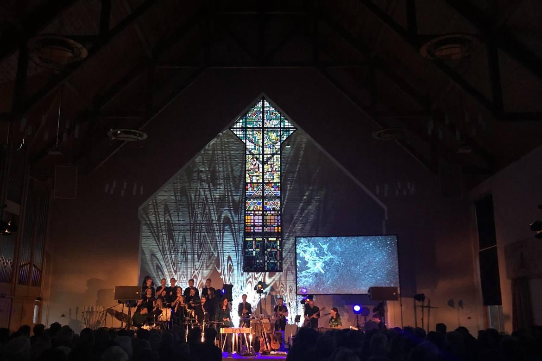Påskekonserten 'Gåten om korset' ble gjennomført i 10 kirker før påske 2019.