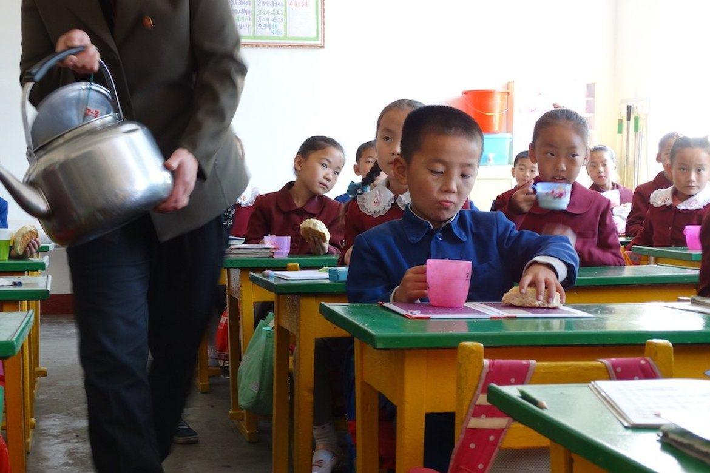Det er dessverre mange underernærte barn i Nord-Korea. Stefanusalliansens partner hjelper mange av dem.