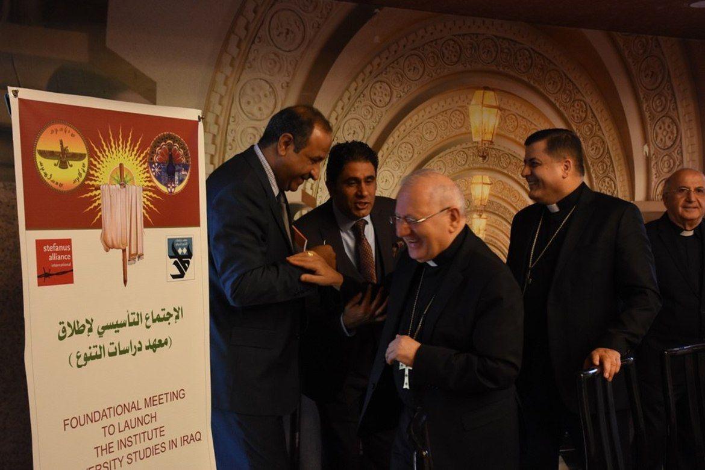Institutt for mangfold ble formelt etablert i Bagdad i Irak 2. juli 2019. Foto: Masarat