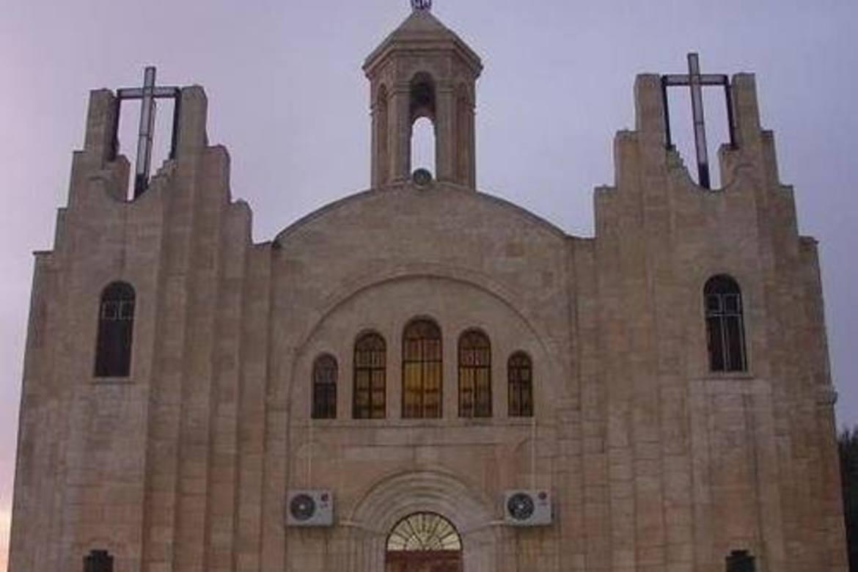 Ei syrisk katolsk kyrkje i Bartella i Irak.