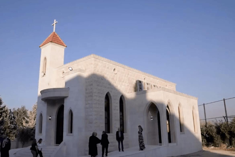 En protestantisk kirke nordøst i Syria.