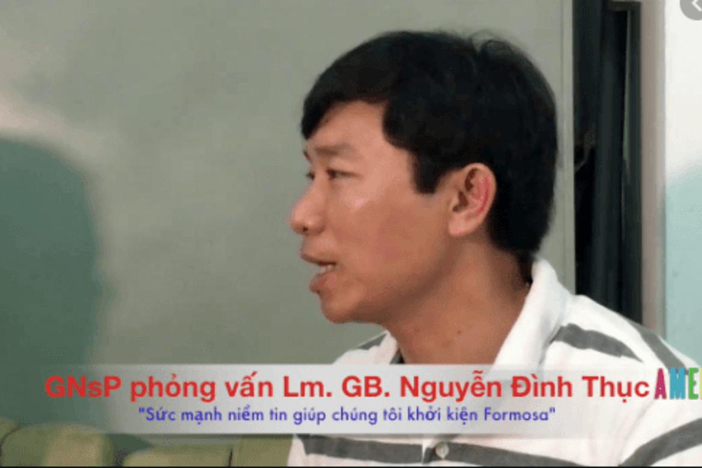 Nguyen Dinh Thuc har kjempet for ofrene etter Formosa-skandalen i Vietnam.