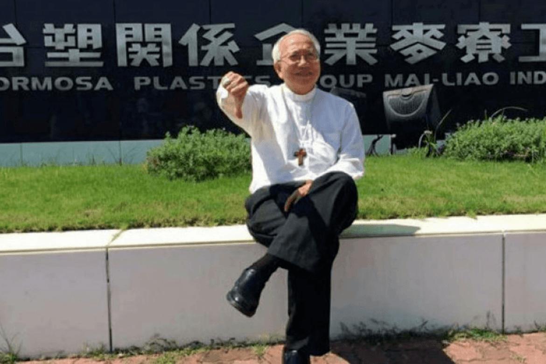Biskop Nguyen Thai Hop har stått på barrikadene for ofrene etter Formosa- skandalen - og er møtt med drapstrusler.