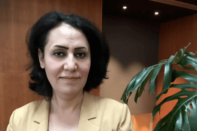 Naghan Hasan er lege og jesid. Ho har i fem år kjempa for overlevande kvinner frå IS-barbariet. Foto: Johannes Morken