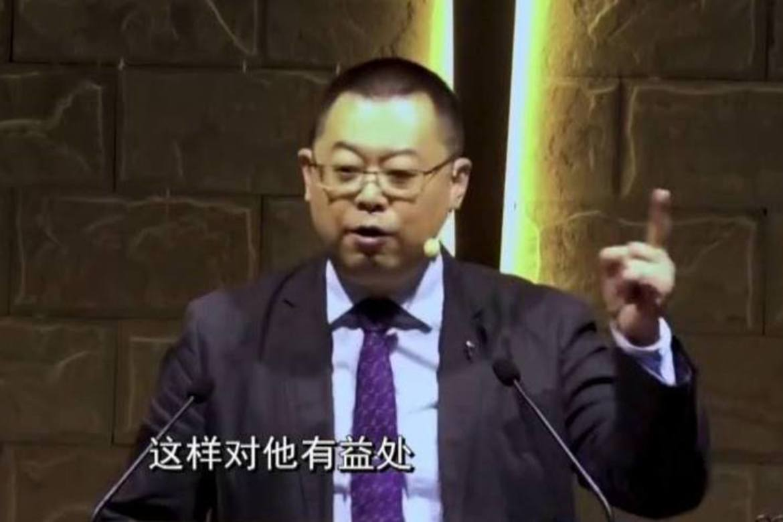 Pastor Wang Yi i Early Rain-kyrkja i Chengdu fekk ni års fengsel før jul.