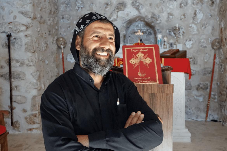 Kristne i Tyrkia: Fader Aho har gjenåpnet et kloster som i årevis var stengt på grunn av voldelige sammenstøt mellom kurdere og den tyrkiske hæren.