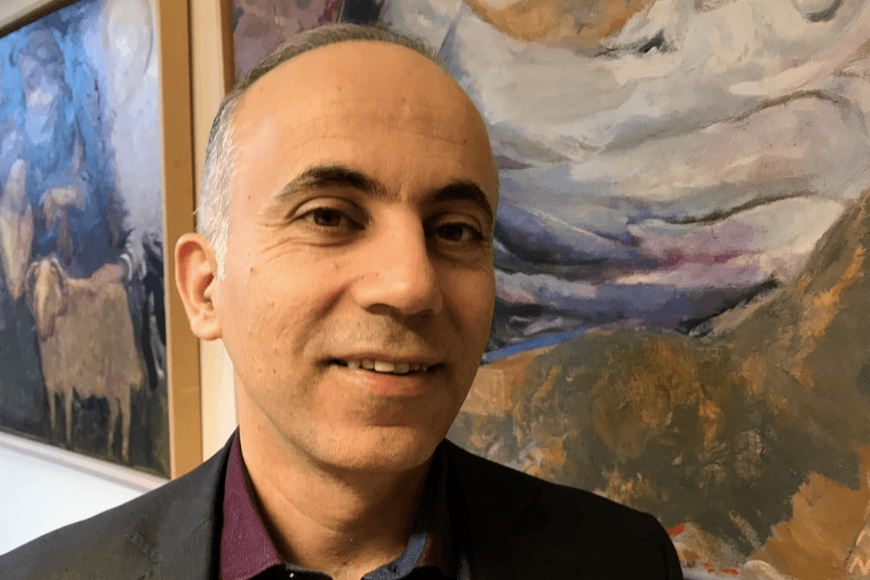 Fadi Daou er prest i den marionittiske kirke i Libanon og en av lederne for Adyan.