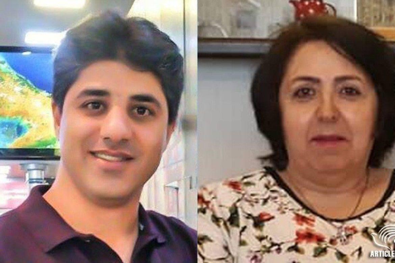 Amin Khaki og Mahrokh Ghanbari har fått 36 dagers permisjon fra fengselet.