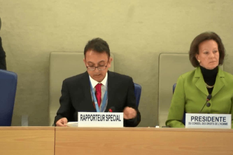 Javaid Rehman er FNs spesialrapportør for menneskerettigheter i Iran.