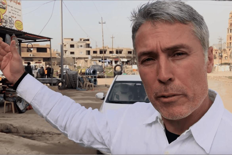 Ed Broen her i Karaqosh i Nord-Irak.