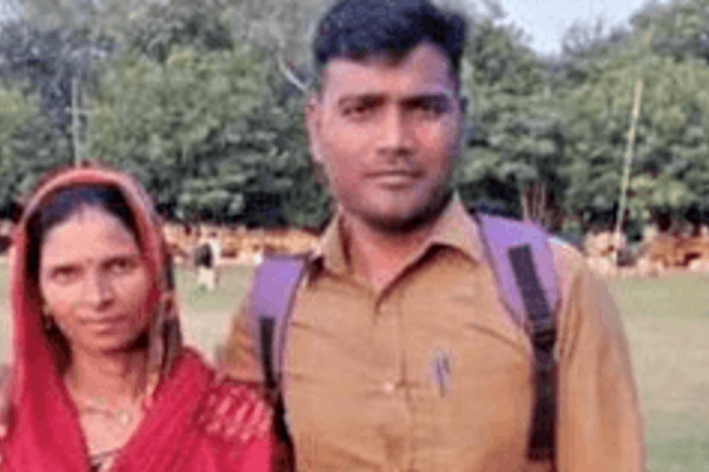 Kristne i India: Pastor Ramesh Kumar og kona.