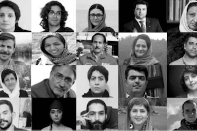 En rapport om sakene til 53 menneskerettsforsvarere, viser hvor hardt Iran undertrykker viktige rettigheter.