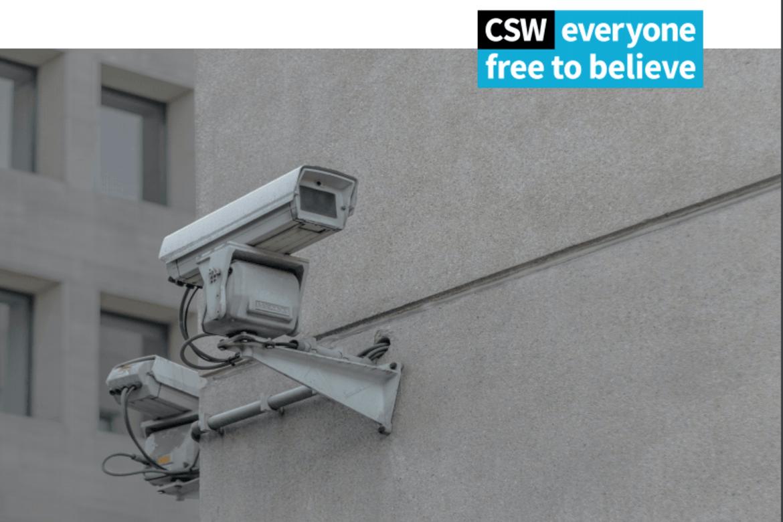 24 slike overvakingskamera skulle opp i kyrkjerommet. Kyrkja sa nei.