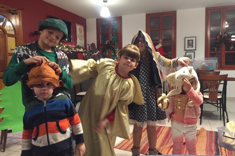 Barn i Antalya evangeliske kirke