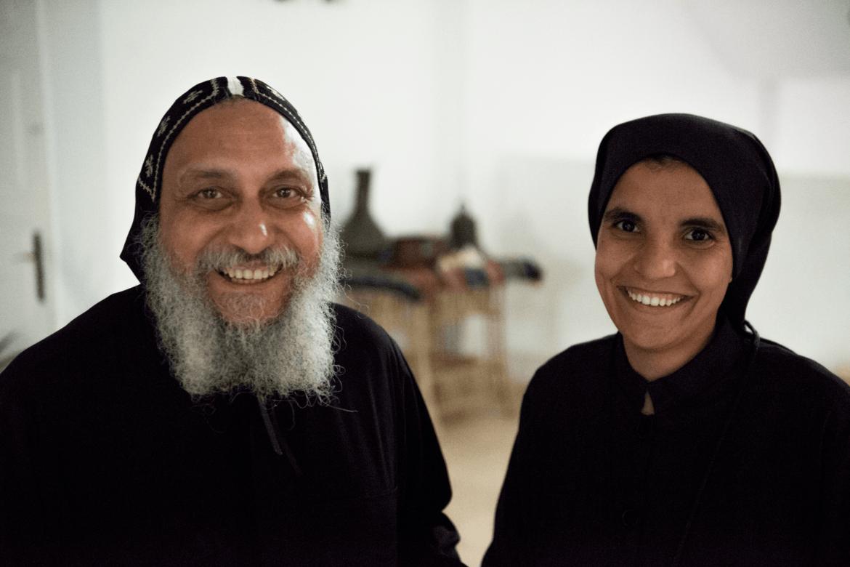 Biskop Thomas og Søster Theodora