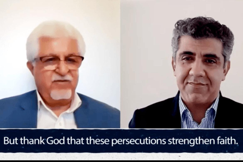 Kristne i Iran: Victor Bet-Tamraz rømte Iran for å slippe ti år i fengsel. Til høyre: Mansour Borji fra Article 18.
