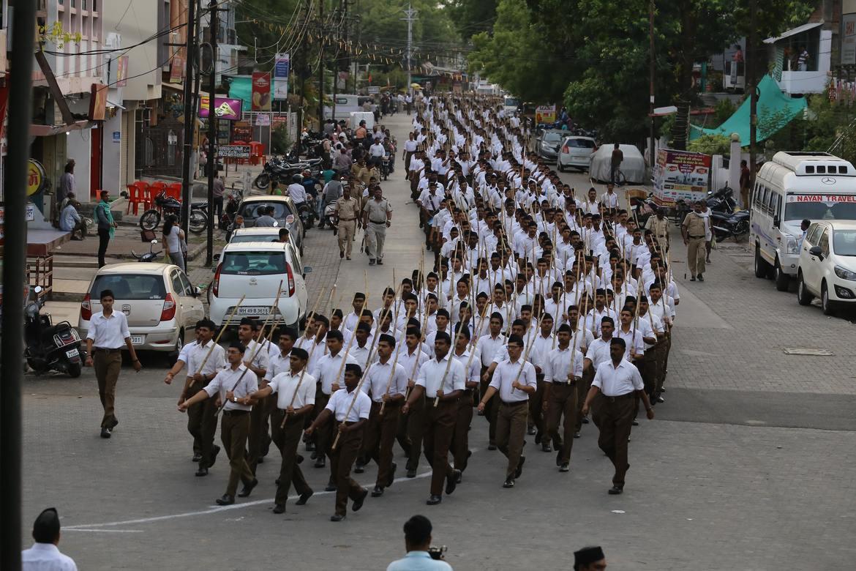 Hindunasjonalister i RSS-bevegelsen kjemper for India for hinduer og truer kristne og muslimer.