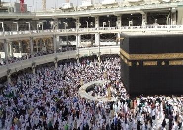 En moske i Saudi-Arabia.