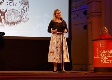 Konstituert generalsekretær Hilde Skaar Vollebæk kritiserer behandlingen som konvertitter får som asylsøkere. (Foto: Johannes Morken)