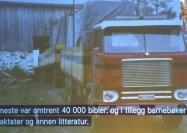 Antti og Esko gjemte bibler i bensintanker og ferdighus. Se den oppsiktsvekkende videoen. Skjermdump fra filmen laget av Thea Haavet.