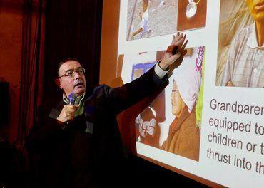 Tim A. Peters har siden 1998 hjulpet mange nordkoreanske flyktninger i sikkerhet og høyrt grusomme historier om overgrep mot kvinner.