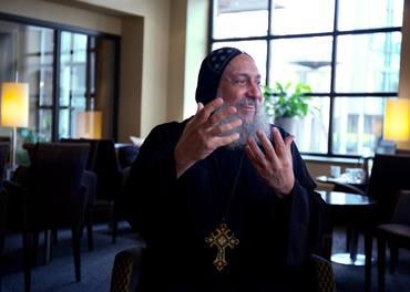 Biskop Thomas har vært Stefanusalliansens partner siden 2005. Foto: Robert Vawter