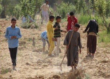 Unge koptiske gutter som får en ny sjanse på Anafora
