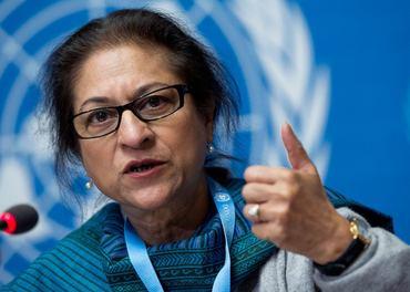Asma Jahangir fikk Stefanusprisen i 2014. Nå er hun død.