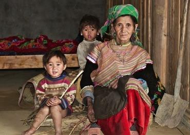 Hmongfolket lever i flere sørasiatiske land. (Foto: Stefanusalliansen)