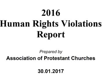 Alliansen av protestantiske kirker har dokumentert brudd på trosfriheten i en ny årsrapport.