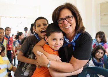 Mange barn får hjelp og omsorg gjennom våre partneres voksende arbeid i Beirut.
