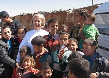 Mama Maggie i Helwan i Kairo.