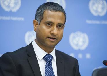 Ahmed Shaheeb er FNs spesialrapportør for trosfrihet og roser den nye læringsplattformen.