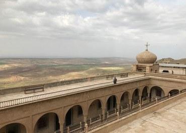 «Gåten om korset» viser veg for kyrkjefolk og musikarar i kampen for å visa at påska er viktig kristen høgtid. Biletet er frå klosteret Mar Mattai i Nord-Irak.