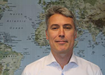 Ed Brown er klar for å lede Stefanusalliansens arbeid i Afrika, Asia, Midtøsten og Det tidligere Sovjet.