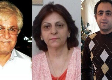 Ramiel Bet-Tamraz (t.h.) sonar no dei siste tre månadane av fengselsstraffa. Foreldra Victor Bet-Tamraz og Shamiram Issava ventar på ankeska.