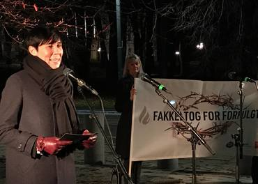 Utenriksminister Ine Marie Eriksen Søreide er bekymret for overgrep mot kristne i Pakistan.