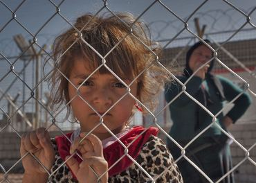 Jesidi-jente i Irak.
